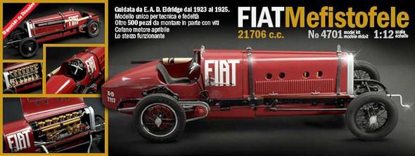 Italeri 1/12 Fiat Mefistofele One-Off Race Car 4701S