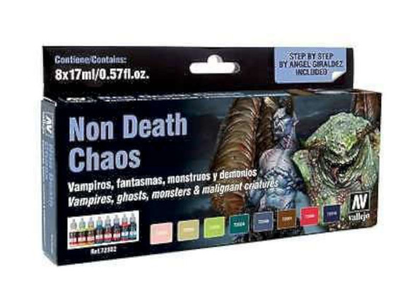 Vallejo Game Color, Non Death Chaos Set. Ref.72302