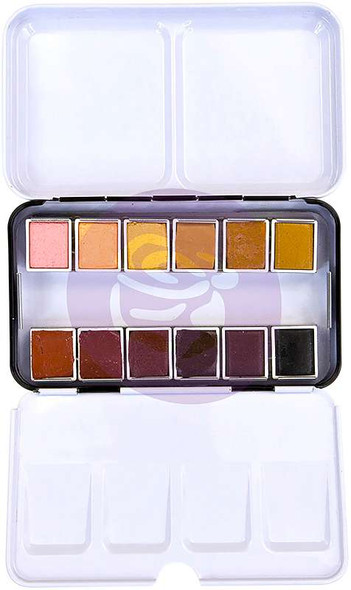 Prima Watercolor Confections Watercolor Pans 12/Pkg Complexion