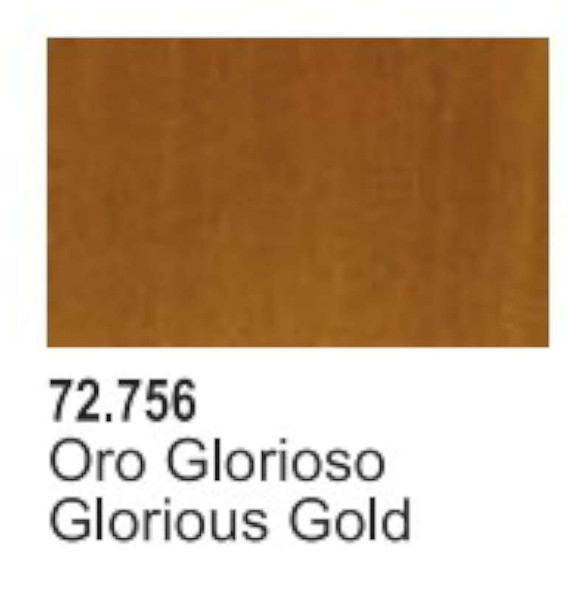 Vallejo Game Air Glorious Gold Paint VJP72756