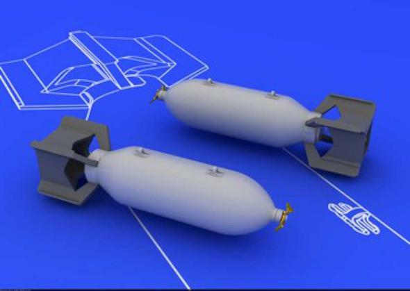 US 250lb Bombs (2 pcs) (Plastic model)