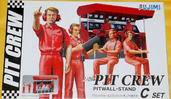 1/20 F1 Pitwall Stand (Model Car)