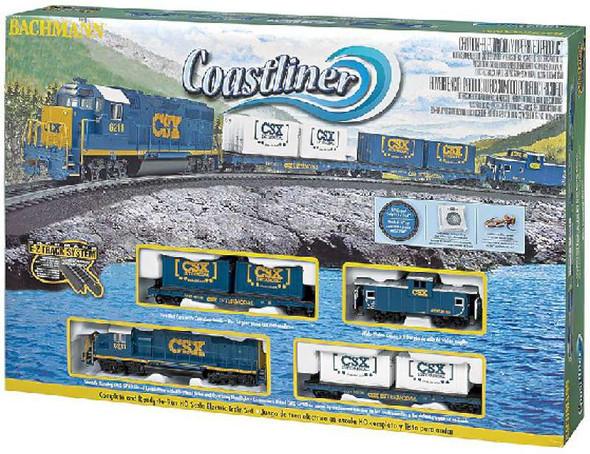 Bachmann Trains Coastliner Freight Train Set, HO Scale 734-BT