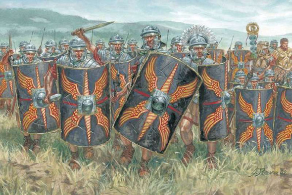 Italeri 1/72 Cesars Wars Roman Infantry 6047S