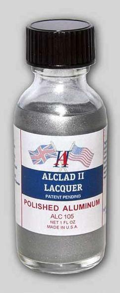 Alclad II Lacquers Polished Aluminum 1oz - ALC105