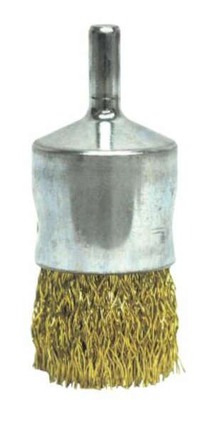Weiler® Coated Cup Crimped Wire End Brush