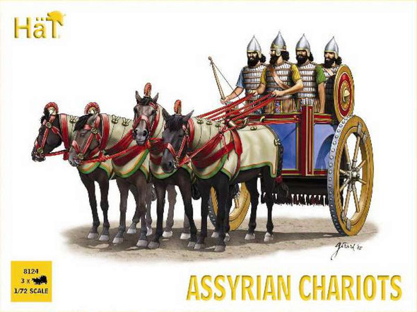 Hat Industrie Assyrian Chariots (1:72)