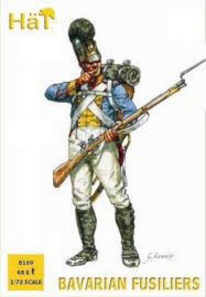 Model Figures - Bavarian Fusiliers- 1:72 -HAT Industrie
