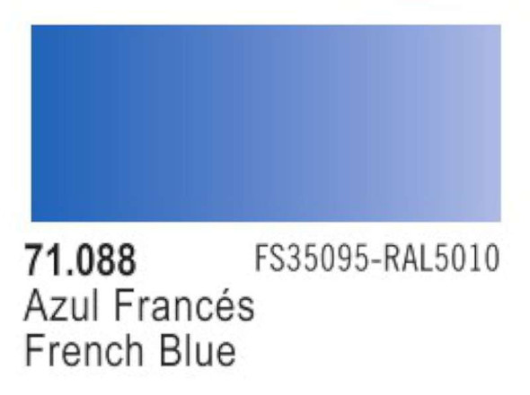 Vallejo French Blue Paint, 17ml