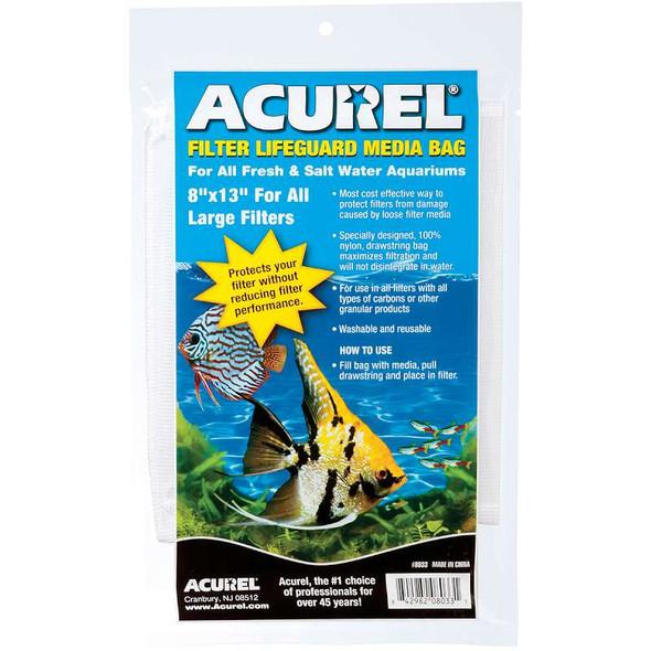 "Acurel Filter Lifeguard Meida Bag 8""X13"""