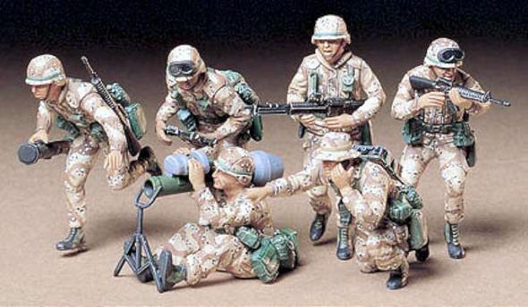 US Modern Desert Soldiers, 1/35 by Tamiya, Model Figures