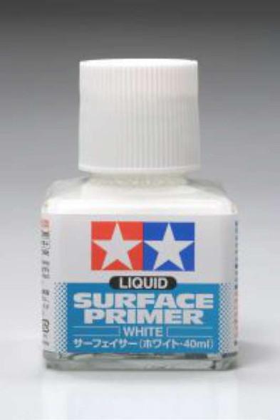 Tamiya - Liquid Surface Primer 40ml - White