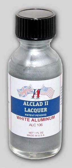 Alclad II Lacquers Light Aluminum 1oz - Alc106