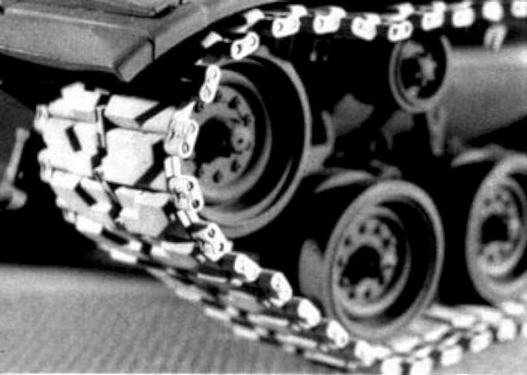 AFV Club M48/M60 Early Tracks -- Plastic Model Vehicle Accessory --