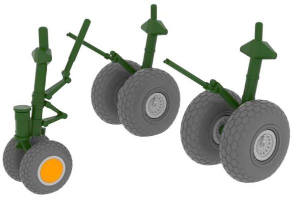 Airplane Model Kit - B 29 Wheels revell- 1:48 -Eduard