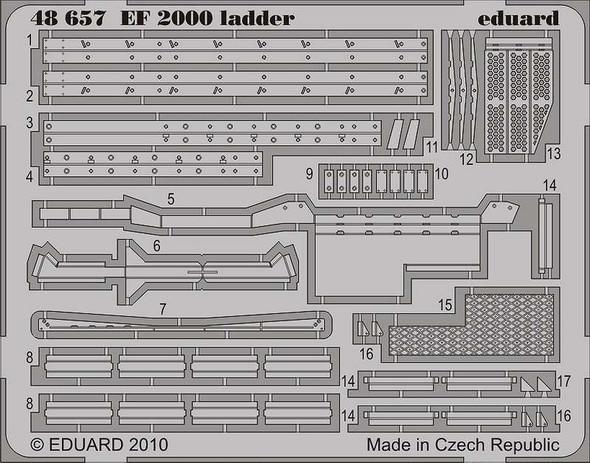 Eurofighter EF-2000 Typhoon Ladder (designed to Be Assem
