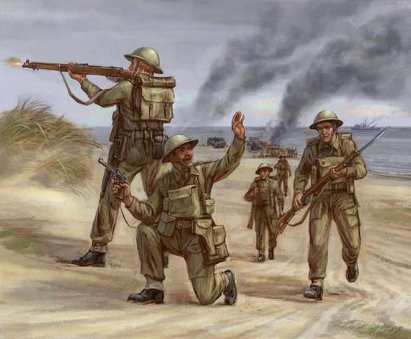 Zvezda British Infantry 1939-42 1/72