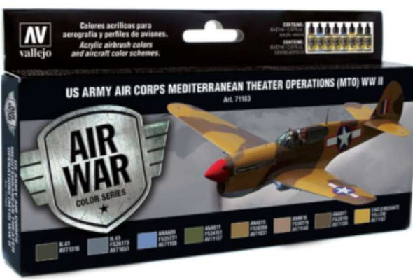 Vallejo Acrylic Paints US Army Air Corps Mediterranean Theater