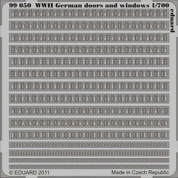 German Doors and Windows WWII 1/700 - 1:700 -Eduard