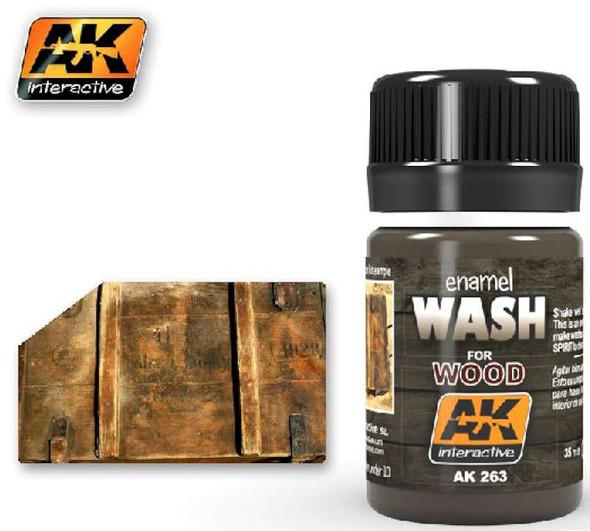 Wash for Wood Enamel Paint 35ml Bottle