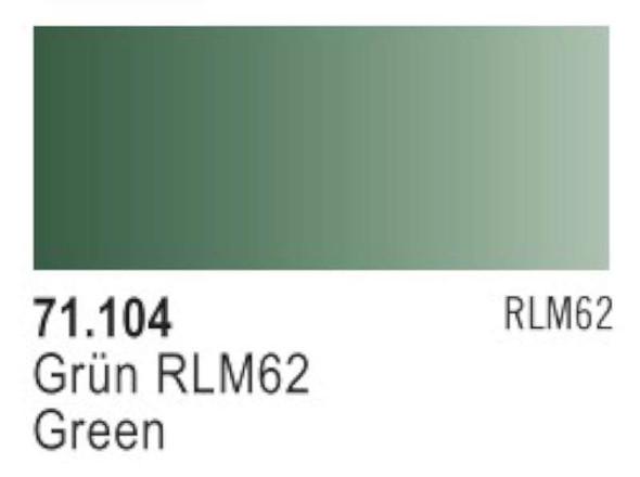 Green RLM62, 17ml by Vallejo, Model Paint