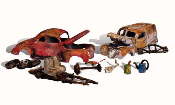 Woodland Scenics 5563 HO AutoScenes/Junk Cars