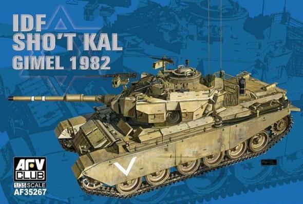 AFV Club IDF Sho't Kal Gimel 1982 Tank -- Plastic Model Military