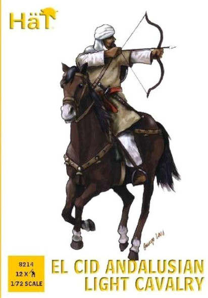 Hat 8214 Andalusian Light Cavalry 1:72 Figures