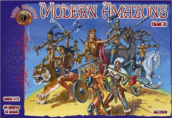 1/72 Modern Amazon Figures