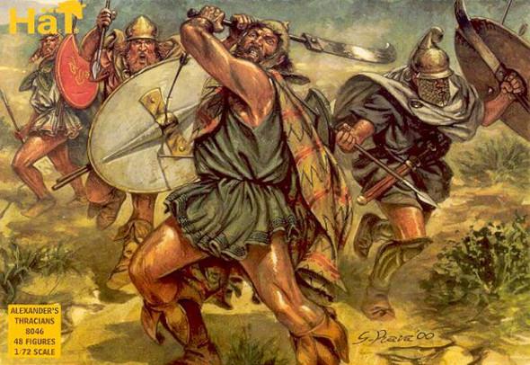 Model Figures - Alexander The Greats Thracian- 1:72 -HAT Industrie