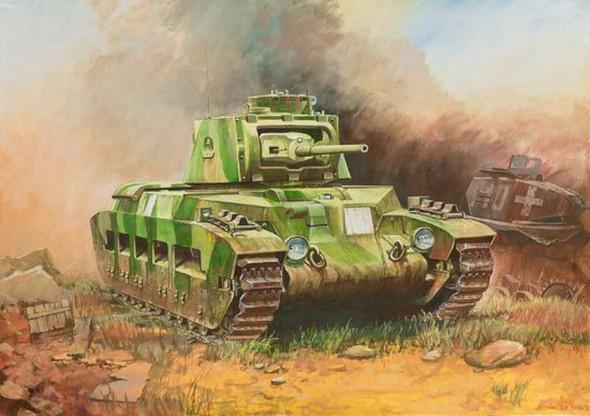 Zvezda 1/100 Matilda II British WWII Medium Tank 6171