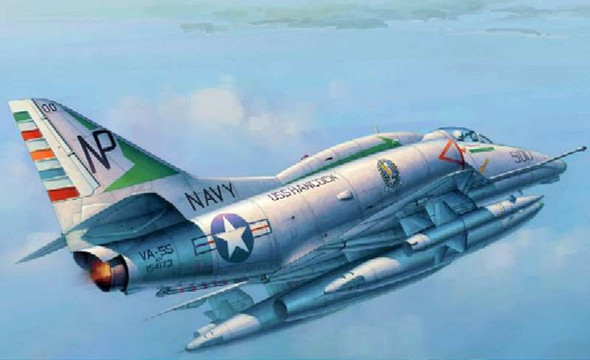 A-4E Skyhawk, 1/32 by Trumpeter, Model Airplane
