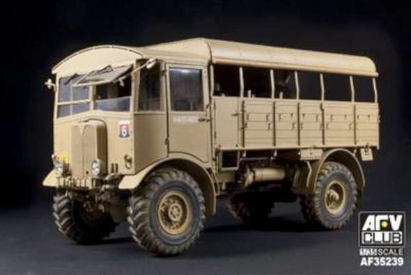 AFV Club AEC Middle Type Matador Truck -- Plastic Model Military
