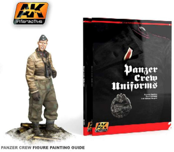 AK Interactive Panzer Crew Uniforms Painting Guide Book -- Hobby and
