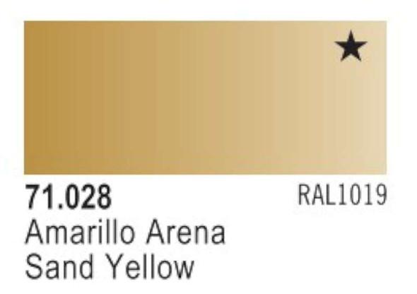Vallejo Sand Yellow Paint, 17ml