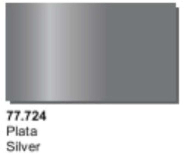Metal Color Silver 32ml by Acrylicos Vallejo 77.724