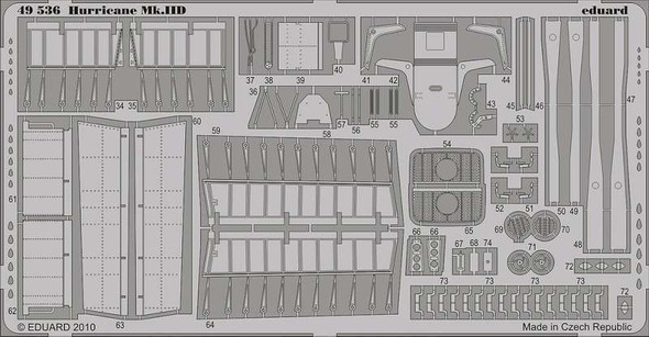 1/48 Scale Hurricane Mk.IID Interior/Exterior S.A. (for Hasegawa)