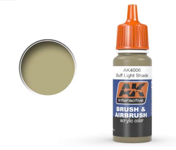 Buff Light Shade Acrylic Paint 17ml Bottle