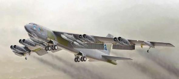 Italeri 1:72 1378 B-52 Stratofortress Model Aircraft Kit