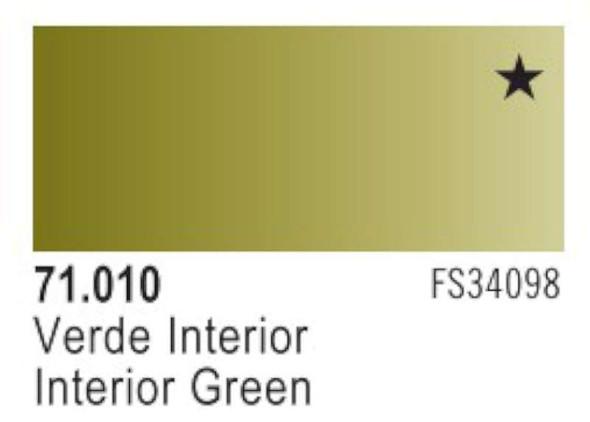 Vallejo Interior Green Paint, 17ml