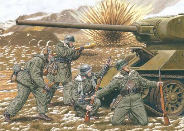 20th Waffen Grenadier division, 1/35 by Dragon, Model Figures