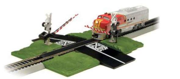 Bachmann Williams BAC44579 HO EZ Track Crossing Gate