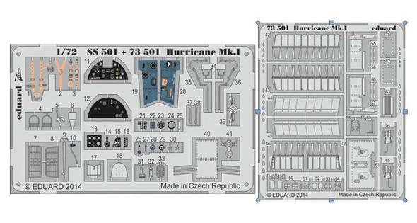 1/72 Aircraft- Hurricane Mk I for ARX (Painted Self Adhesive)