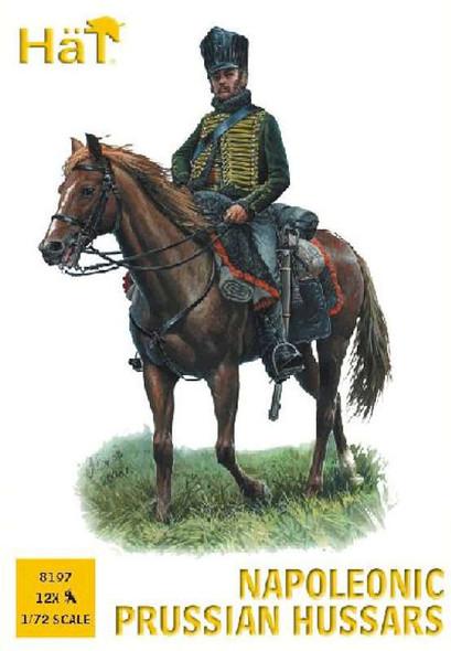 Hat 1/72 Napoleonic Prussian Hussars #8197