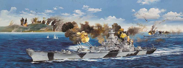 Trumpeter 1/200 USS Iowa BB-61 Battleship 3706