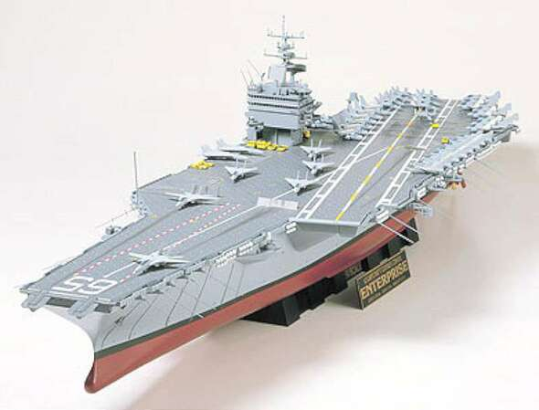Tamiya 78007 USS Enterprise CNV-65 Nuclear Carrier 1/350
