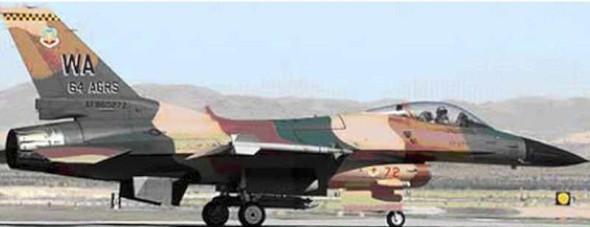 Tamiya - 61106 1/48 F-16C/N Aggressor/Adversary