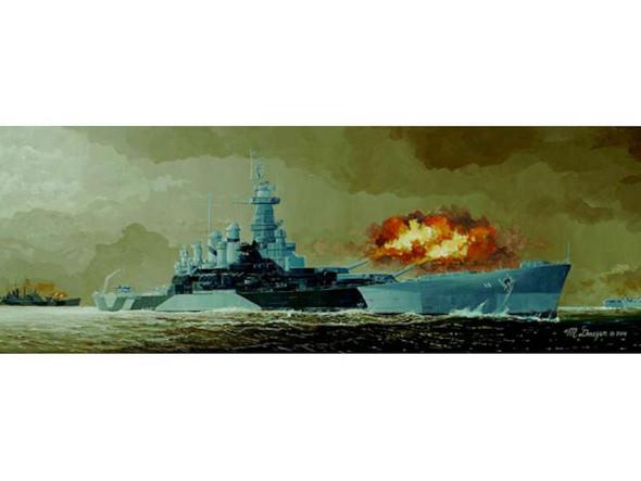 Trumpeter 1/350 Scale USS North Carolina bb55 Battleship