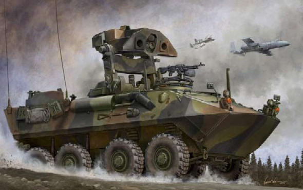 USMC LAV-AT, 1/35 by Trumpeter, Model Vehicle
