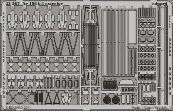 Arado AR 196A-3 Exterior (designed to Be Used with Model